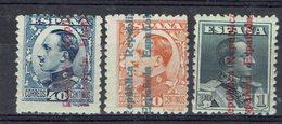 Espagne - 1931-32 - N° 493/495 - Neufs Trace De Charnière - B/TB - - 1931-Hoy: 2ª República - ... Juan Carlos I