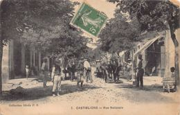 CASTIGLIONE Bou Ismail - Rue Nationale - Travaux De Voirie - Otras Ciudades