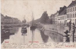 GENT --  CANAL DE BRUGES - 1902 - Gent