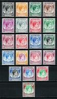 Singapur (Británico) Nº 1/20 (20 Valores) Nuevo* - Singapore (...-1959)