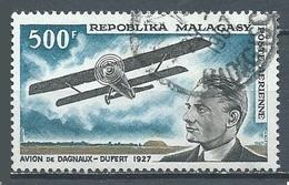 Madagascar Poste Aérienne YT N°101 Avion De Dagnaux-Dufert Oblitéré ° - Madagascar (1960-...)