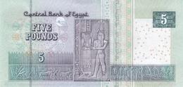 EGYPT  P. 72b 5 P 2016 UNC - Egypt