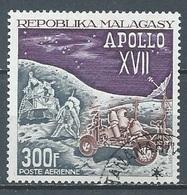 Madagascar Poste Aérienne YT N°124 Apollo XVII Oblitéré ° - Madagascar (1960-...)
