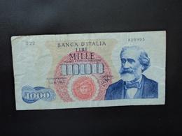 ITALIE : 1000 LIRE   14.1.1964   C.I.63 BS 474 / P 96b      TTB - 1000 Lire