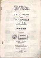 Catalogue Des Oblitérations Flier  Paris  Club Le Meilleur   Mai 1977 - France