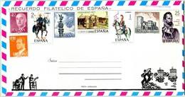 Souvenir Philatélique D'Espagne (N° 119) - Fête Andalouse (Recto-Intérieur-Verso) - 1931-Hoy: 2ª República - ... Juan Carlos I