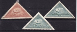 #11922 PR China 1951 Incomplete  Set, Used, Michel 113 - 114 Reprints: For The World Peace, Peace Dove - Officiële Herdrukken