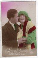 Cpa Fantaisie Couple    - Bonne Annee - Dede 187 - Couples
