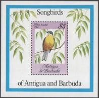 142. ANTIGUA AND BARBUDA 1984 STAMP M/S SONG BIRDS. MNH - Antigua Et Barbuda (1981-...)