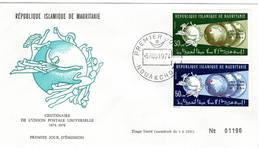 Mauritania Mauritanie 1974 UPU U.P.U. Weltpostverein Universal Postal Union Centenary FDC - UPU (Universal Postal Union)
