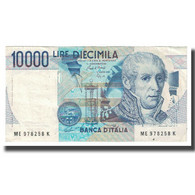 Billet, Italie, 10,000 Lire, 1984, 1984-09-03, KM:112b, TTB - 10000 Liras
