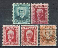 Espagne - 1931-34 - N° 501 A - 503 - 505 - 505 A - 507 A - B/TB - - 1931-Hoy: 2ª República - ... Juan Carlos I