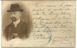 EVRES . MEUSE . CPA PHOTO CARTE IDENTITE . 1903 - Persone Identificate