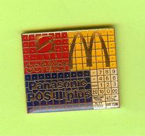 Pin's Mac Do McDonald's Panasonic POS Plus - 10JJ12 - McDonald's