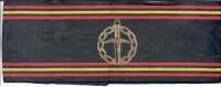 Brassard Officiel De La FNAPG NVOK Fédération Nationale Des Anciens Prisonniers De Guerre  1940/45 (Belgique) - Ecussons Tissu