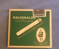 Paquet De Cigarette Anglais Plein Ww2 Militaria - 1939-45