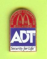 Pin's Mac Do McDonald's Worldwide Convention Orlando ADT - 10KK27 - McDonald's