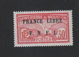 Faux Curiositée N° ? 30 C Saint-Pierre Et Miquelon Gomme Sans Charnière - Unused Stamps