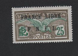 Faux Curiositée N° ? 25 C Saint-Pierre Et Miquelon Gomme Sans Charnière - Unused Stamps