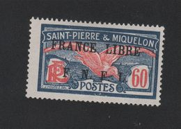 Faux Curiositée N° ? 60 C Saint-Pierre Et Miquelon Gomme Charnière - Unused Stamps