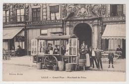 Lille   Grand Place - Marchand De Frites   Edition Merlot - Lille