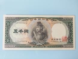 JAPON-5000 YEN 1957.UNC.NEUF - Japan
