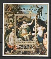 Ajman 1971 Art - Allegory Painting MS MNH - Otros