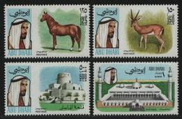 Abu Dhabi 1971 - Mi-Nr. 71-74 ** - MNH - Freimarken / Definitives - Abu Dhabi