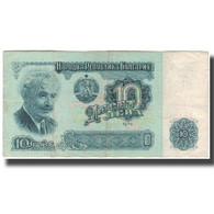 Billet, Bulgarie, 10 Leva, 1974, KM:96a, TB+ - Bulgarije
