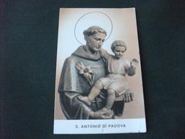 SANTINO HOLY PICTURE S. ANTONIO DA PADOVA - Religion & Esotericism