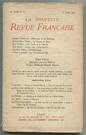 Albert Thibaudet, Odilon-Jean Périer, Jean Cassou, Max Jacob, Auguste Bréal, André Malraux, La Nouvelle Revue Française - Sin Clasificación
