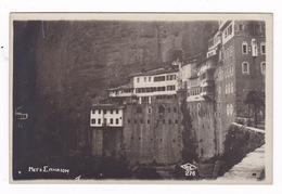 Rare Lot De 3  Superbes CP Monastère De Mega Spilaion, Kalavryta, Péloponnèse, Grèce, Années 1920 - Greece