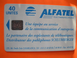 Télécarte Du Maroc - Morocco