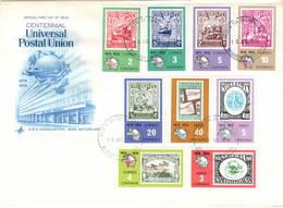 Nicaragua 1974 UPU U.P.U. Weltpostverein Universal Postal Union Centenary - UPU (Union Postale Universelle)
