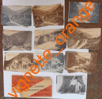 114 CARTES POSTALES + 8 CARNETS  Recuerdo Del CASINO Del PUENTE Del Rey / Vallée De Aran / Val D ' Aran / Douaniers - Other