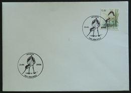 Entiers Postaux - FDC Avocette, Oiseau, échassier, Péruwelz (Bird - Belgium) - Storks & Long-legged Wading Birds