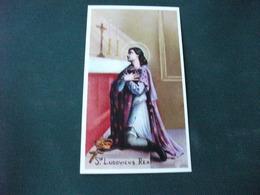 SANTINO HOLY PICTURE PREGHIERA A SAN LUDOVICO RE 2/455 - Religione & Esoterismo