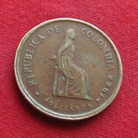 Colombia 5 Pesos 1988 KM# 268 Small Date Colombie - Colombia