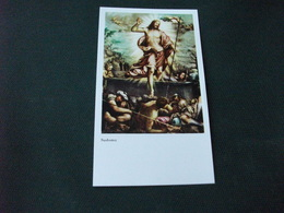 SANTINO HOLY PICTURE ORAZIONE A GESU' RISORTO 2/1113 - Religione & Esoterismo