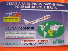 Télécarte Guinée équaitoriale - Guinée-Equatoriale