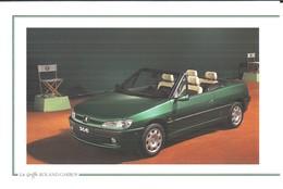 AUTOMOBILE .. LE NOUVEAU CABRIOLET PEUGEOT 306 ROLAND GARROS ... 1997 - Publicidad