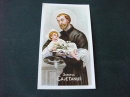 SANTINO HOLY PICTURE SAN GAETANO 2/320 - Religione & Esoterismo