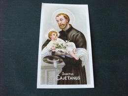 SANTINO HOLY PICTURE SAN GAETANO 2/320 - Religion & Esotericism