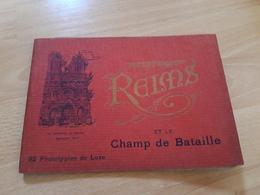 Reims Et Le Champ De Bataille..32 Phototypies De Luxe - Dokumente