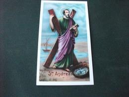 SANTINO HOLY PICTURE SAN ANDREA APOSTOLO 2/420 - Religion & Esotericism