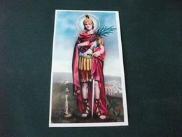 SANTINO HOLY PICTURE SAN FERMO SOLDATO MARTIRE - Religione & Esoterismo