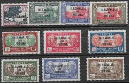 WALLIS Et FUTUNA N°77 à 86 ** Série Complète 10 Valeurs Neuves Sans Charnière MNH - Wallis Und Futuna