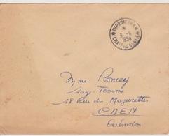 TAD Imprimés P.P. Chateau-Gontier 09/09/1954  (Mayenne) Port Payé - Postmark Collection (Covers)