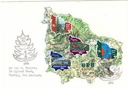 Norfolk Island 1974 UPU U.P.U. Weltpostverein Universal Postal Union Centenary FDC M/S - UPU (Union Postale Universelle)