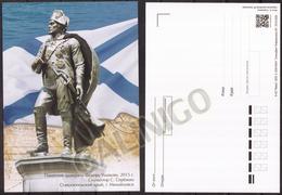 2020-054 Russia Postal Card Without Stamp:Monument To Fyodor Ushakov, Naval Commander, Admiral - Historische Figuren